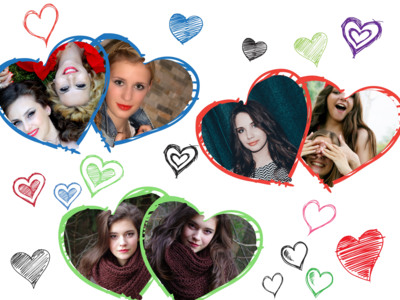 making an image collage photovisi